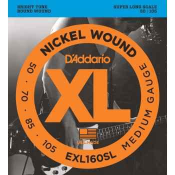 D´addario EXL160SL Super Long Scale cuerdas para bajo